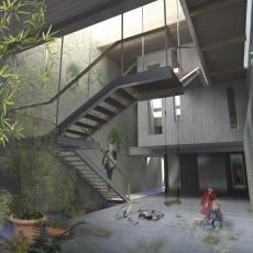 ONT 007-vue patio d'entrée